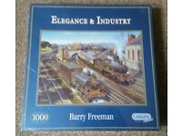 New Gibsons 1000 piece Jigsaw Puzzle titled 'Elegance & Industry'