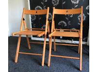 TWO CHAIRS (never used)