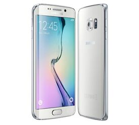 NEW SAMSUNG S6 EDGE 64GB WHITE