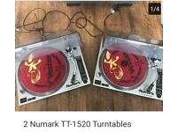 Very good condition two dj decks