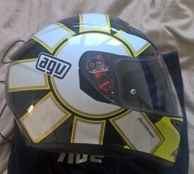 Motorbike helmet AGV Rossi Gothic 46 size XL