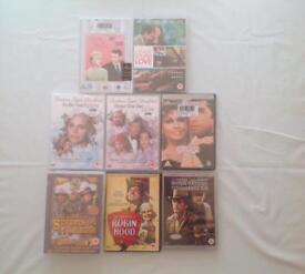 10 DVD'S UNOPENED.