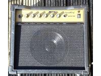 SOUNDKING 30 WATT GUITAR PRACTICE AMP, C/W PWR LEAD.