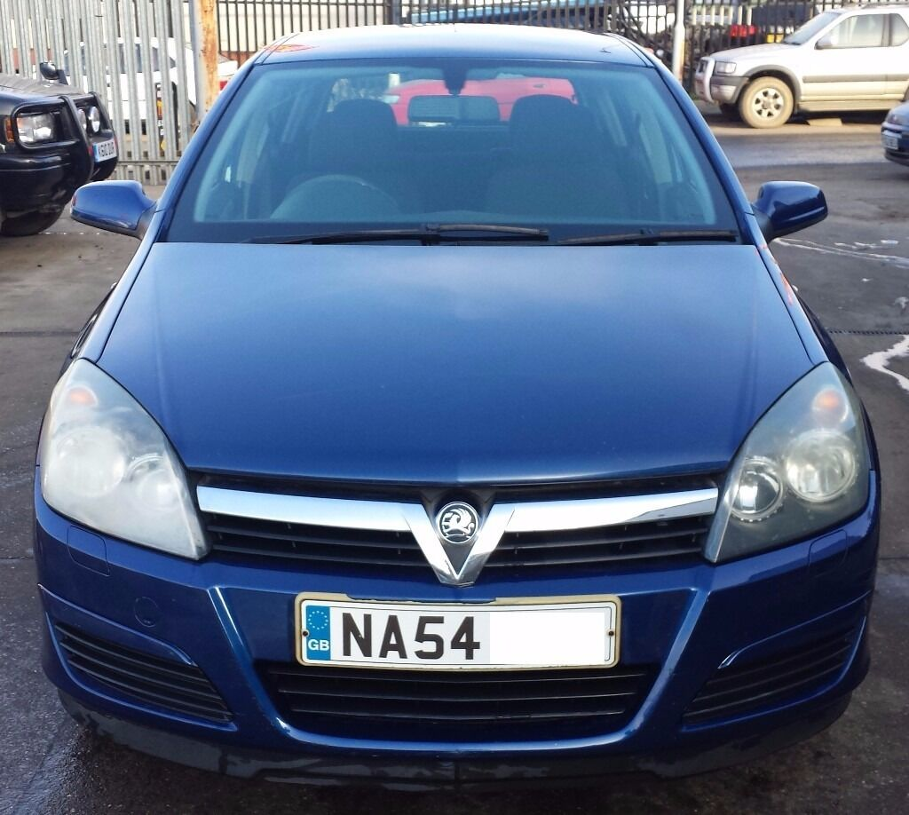 VAUXHALL ASTRA 2004 - LOW MILEAGE WITH MOT