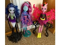 Monster high doll £5 each **immaculate**