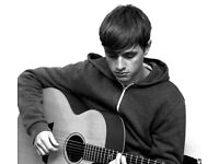 Guitar lessons for all ages and genres