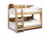 JULIAN BOWEN DOMINO BUNK BED MAPLE CHILDRENS BUNK BED