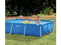 Intex Rectangular Frame Pool 300 x 200 x 75cm Brand new in box
