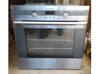 FREE: Built-in Single Oven. Very clean but top of door internal plastics is broken!