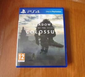 Shadow of the Colossus - Sony Playstation 4 Game - Amazing PS4 Action Adventure Fantasy - Like New