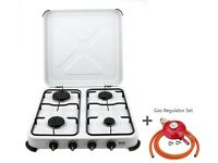camping gas cooker with regulator for lpg propane gas