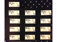 HP Officejet Ink Cartidges (950/951xl) Various: Black & Colour