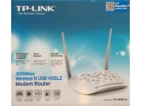 TP Link Wifi Modem Router