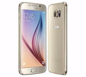 THE CELL SHOP has a Gold Samsung S6, 32gb, Unlocked to all providers including Freedom (wind) Mobile (2 in Stock)