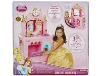 Brand new in box Disney Princess Deluxe Royal Kingdom kitchen and café