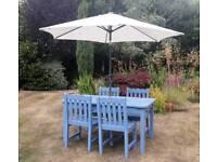 Lovely garden furniture set
