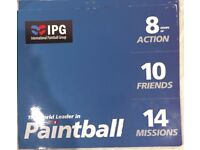 IPG Paintball Tickets for 20 pax! 100 FREE PAINTBALLS PER PAX! £3+