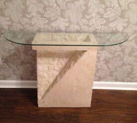 Italian Mactan Stone Furniture (Coffee, Lamp and Console Tables)