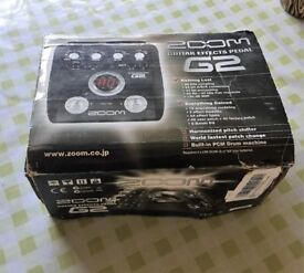Zoom: G2 (Guitar Effects Pedal)