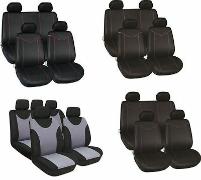 Genuine Quality Universal Full Set Stylish Seatcovers  Machine Washable For Car