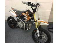 Brand new Slam MXR125 Pit Bike 125 Mx kids dirt bike like Stomp ktm