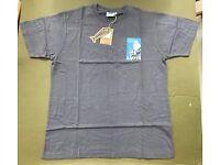 "Mens Weird Fish ""Get Carper"" Dark Grey T-Shirt Size L BNWT"