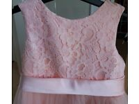 Age 6 Handmade Flowergirl dress in immaculate condition