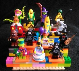 Lego Minifigures from Series 14,15,16,17,18
