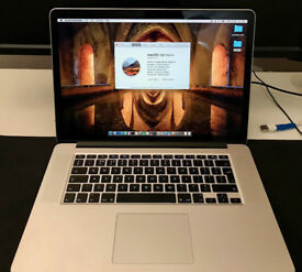 2014 15in MacBook Pro Retina, 2.2GHz i7, 16GB RAM, 256GB SSD