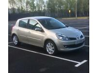 2007 Renault Clio 1.6 low mile 2 keys first to view will buy