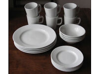 Mugs, plates, bowls and small plates by RG Tableware Vitrified Hotelware, catering quality crockery