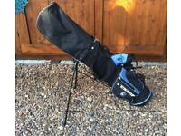 Child's Golf Bag & Clubs