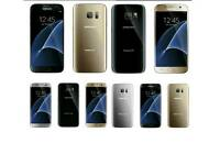Brand New(Unlocked) Samsung Galaxy S7 Edge 32gb Gold And Black Colour Fully Boxed Up