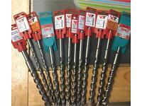 12 hammer drill bits ( brand new)