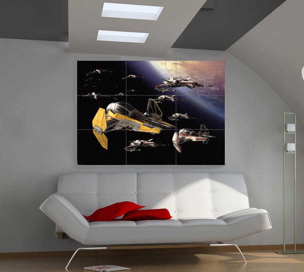 "Плакаты Star Wars 3 Huge Art Giant Poster Wall Print 39""x57"" i209"
