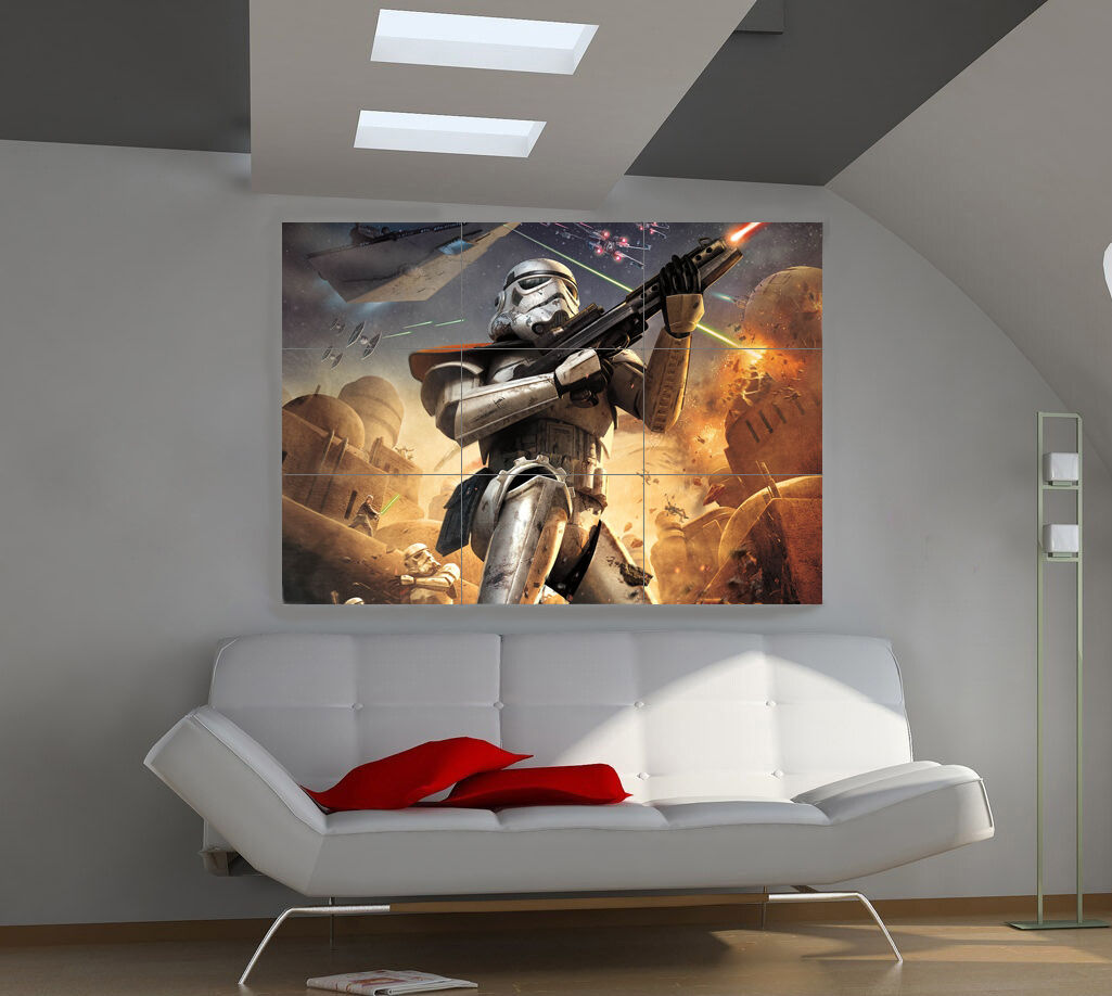 "Плакаты Star Wars Huge Art Giant Poster Wall Print 39""x57""  a234"