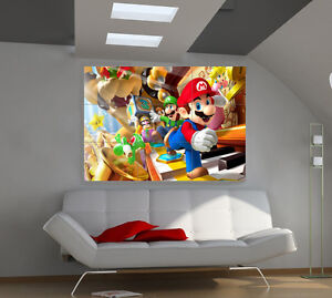 Brothers-MARIO-Huge-Art-Giant-Poster-Wall-Print-39-x57-i118