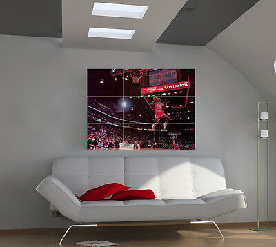 "Michael Jordan Huge Art Giant Poster Wall Print 39""x57"" px35"