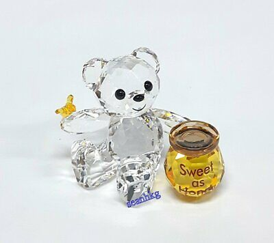 Swarovski 5491970 Kris Bear - Sweet as Honey, Bee Crystal Authentic MIB Honey Bear Sweet