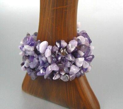 Gemstone Beads Bracelet Stretching Women Fashion Costume Jewelry - Costume Bracelet