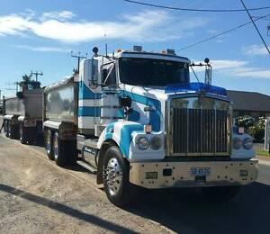 Kenworth T404SAR Truck & Trailer Tipper Munno Para West Playford Area Preview