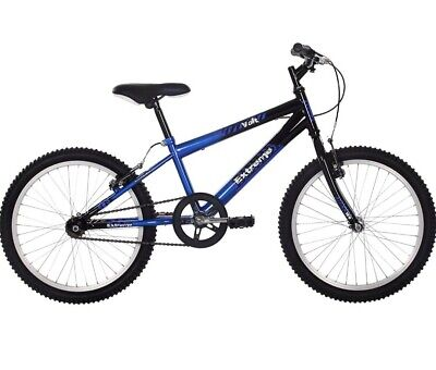 Raleigh Extreme Boys' Volt Youth Mountain Bike - Blue/Black, 20 Inch