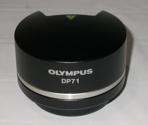 Olympus DP71 High Resolution 12.5 MP Microscope Camera Fluorescence Pixel Shift