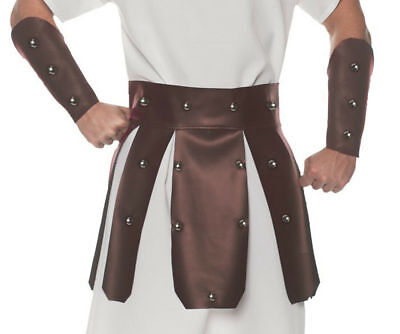 Gladiator Halloween (Underwraps Roman Gladiator Warrior Belt Set Halloween Costume Accessories)