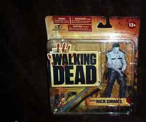 Walking Dead Series 1 Black and White Rick Grimes