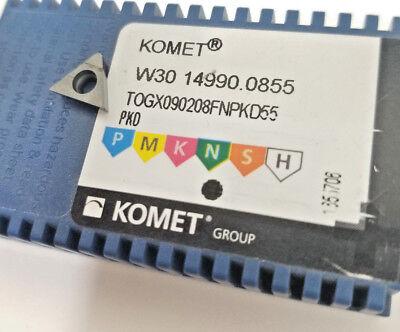 Brand New 50 Pcs Komet W30 14990.0855 Pcd Diamond Insert