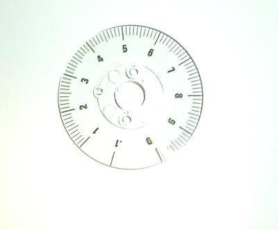 Tektronix Tek Knob Dial 1-78 Diameter Marked .1 1-10