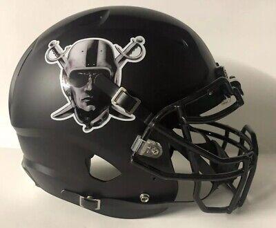 Oakland Raiders Authentic Schutt Vengeance Custom Full Size Football Helmet Oakland Raiders Authentic Helmet
