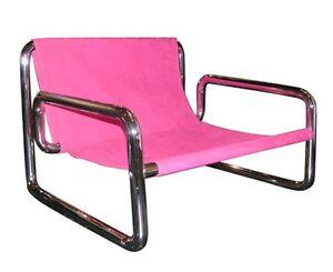 Vintage - Totally tubular chair in black
