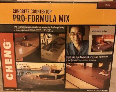 Cheng Concrete Countertop Pro-formula Mix 3 Cubic Foot Bag Color Brick